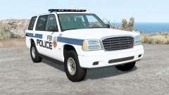 Gavril Roamer FBI Police для BeamNG Drive