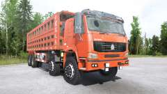 Howo 8x8 dump truck 2008 для MudRunner