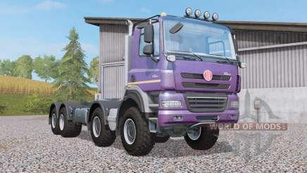 Tatra Phoenix T158 hooklift 8x8 для Farming Simulator 2017