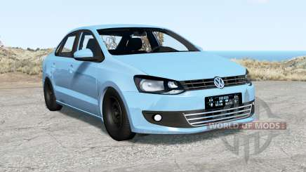 Volkswagen Polo sedan (Typ 6R) 2011 для BeamNG Drive
