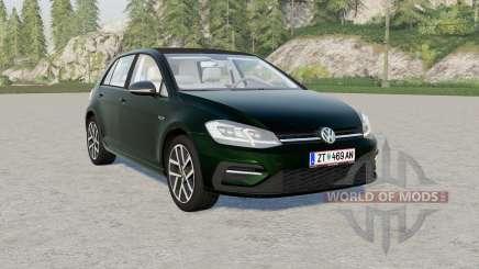 Volkswagen Golf TSI 5-door (Typ 5G) Ձ017 для Farming Simulator 2017