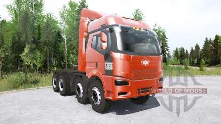 FAW Jiefang J6P 8x8 Truck Tractor для MudRunner