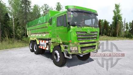 Shacman F3000 6x6 Dump Truck для MudRunner