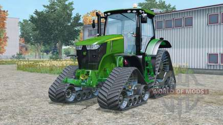 John Deere 7310R crawler modules для Farming Simulator 2015