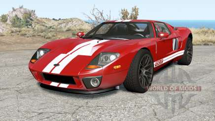 Ford GT 2005 v3.0 для BeamNG Drive