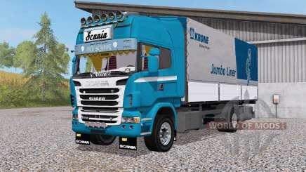 Scania R730 4x4 rigid Topline Cab для Farming Simulator 2017