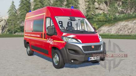 Fiat Ducato Van (290) SDIS 42 для Farming Simulator 2017