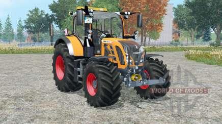 Fendt 718 Vario orange edition для Farming Simulator 2015