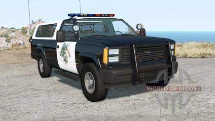 Gavril D-Series California Highway Patrol v1.7 для BeamNG Drive