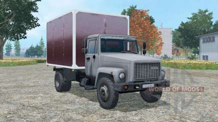 ГАЗ 3307 фургон для Farming Simulator 2015
