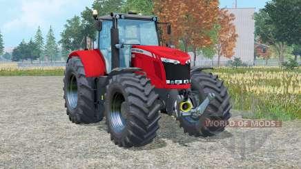 Massey Ferguson 7622 Dyᵰa-6 для Farming Simulator 2015