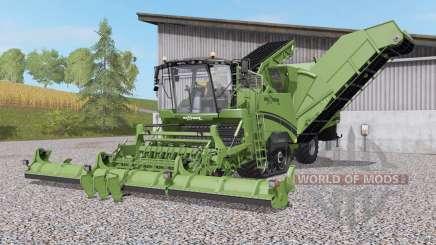 Grimme Maxtron 620 schneidwerk nachjustiert для Farming Simulator 2017