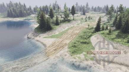 Два озера для Spin Tires