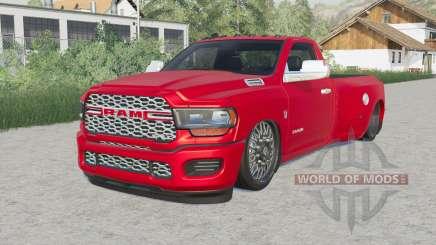 Ram 3500 Regular Cab Dually (D2) Hell Truck для Farming Simulator 2017
