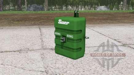 Suer weight ৪00 kg. для Farming Simulator 2015