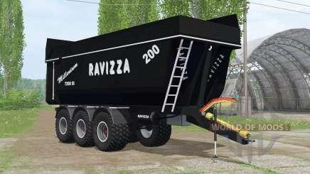 Ravizza Millenium 7200 ꞨI для Farming Simulator 2015