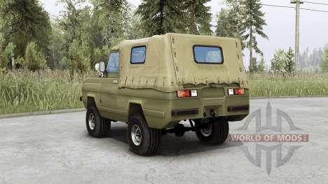 УАЗ 3907 Ягуаᴘ для Spin Tires