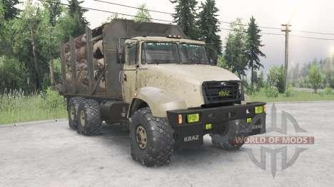 КрАЗ 65032 для Spin Tires