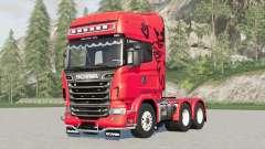 Scania R730 V8 Toplinᶒ для Farming Simulator 2017