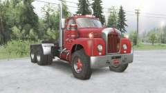 Mack B61 6x6 tractor truck для Spin Tires