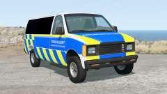 Gavril H-Series German Emergency v1.4 для BeamNG Drive