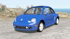Volkswagen New Beetle Turbo S 2002 для BeamNG Drive