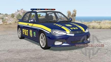 Hirochi Sunburst Brazilian PRF Police v1.1 для BeamNG Drive
