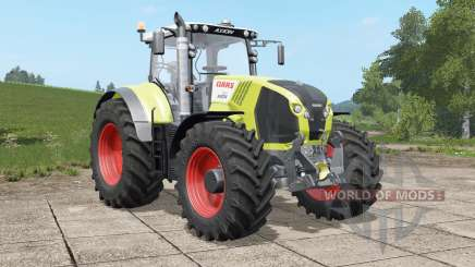 Claas Axion 800〡820〡830〡840〡850〡870 для Farming Simulator 2017