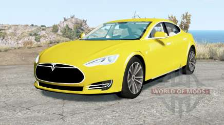Tesla Model S 2012 для BeamNG Drive