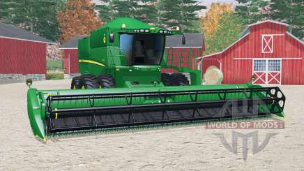 John Deere S5ⴝ0 для Farming Simulator 2015