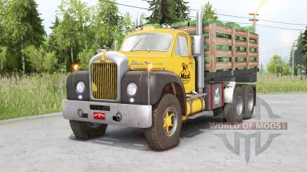 Mack B61 6x6 Chassis Cab для Spin Tires