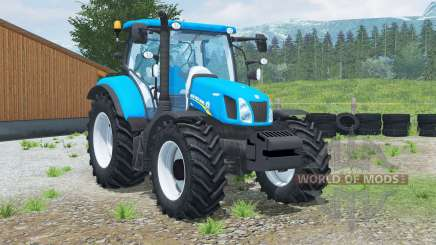 New Holland Ʈ6.160 для Farming Simulator 2013