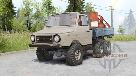 ЛуАЗ 13021 6x6 для Spin Tires