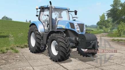New Holland T7.220-T7.ろ10 для Farming Simulator 2017