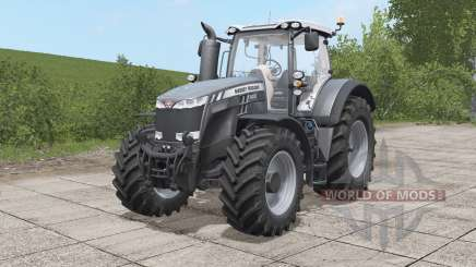 Massey Ferguson 8700 Black Edition для Farming Simulator 2017