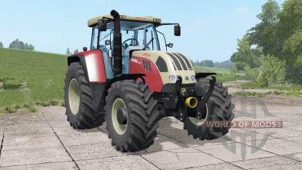 Steyr 6140 & 6195 CVT для Farming Simulator 2017
