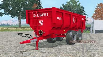 Gilibert BG 1ⴝ0 для Farming Simulator 2015