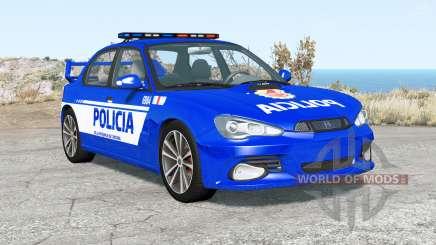 Hirochi Sunburst Fuerzas de Seguridad de Argenti для BeamNG Drive