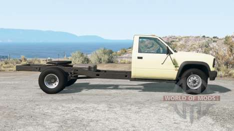 Gavril D-Series fifth wheel для BeamNG Drive