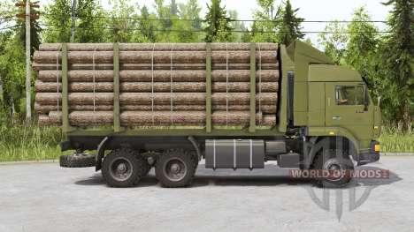 КамАЗ 65225 для Spin Tires