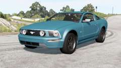 Ford Mustang GT 2005 v2.0 для BeamNG Drive