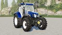 New Holland T6.120-T6.175 для Farming Simulator 2017