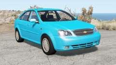 Chevrolet Lacetti sedan 2005 для BeamNG Drive