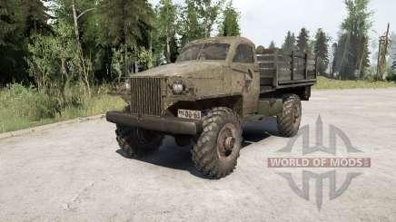 ГАЗ-63 1943 для MudRunner