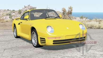Porsche 959 1987 для BeamNG Drive