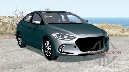 Hyundai Elantra (AD) 2017 для BeamNG Drive
