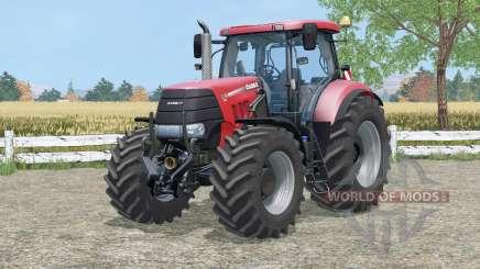 Case IH Puma 225 CVX amaranth red для Farming Simulator 2015