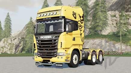 Scania R360〡R480〡R560〡R730 для Farming Simulator 2017