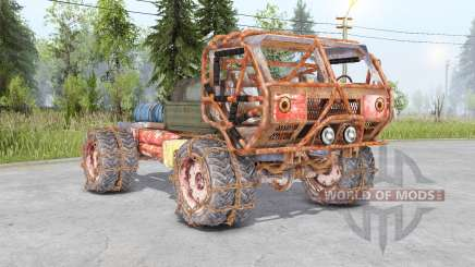 Mongo Heist Truck для Spin Tires