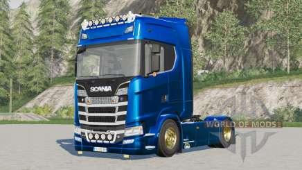 Scania S580 4x4 Highline для Farming Simulator 2017